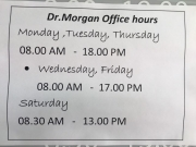 Opening and Closing Times while we fight the contagious virus